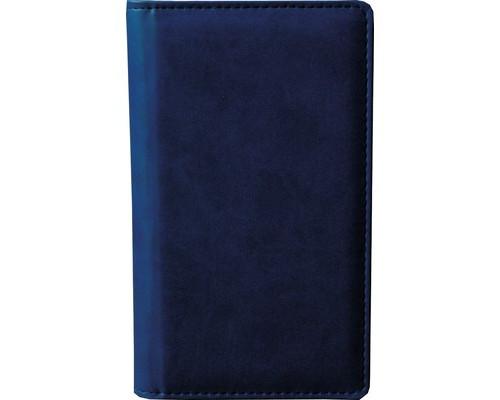 Визитница настольная Attache Сиам пластиковая на 96 визиток синяя - (209682К)