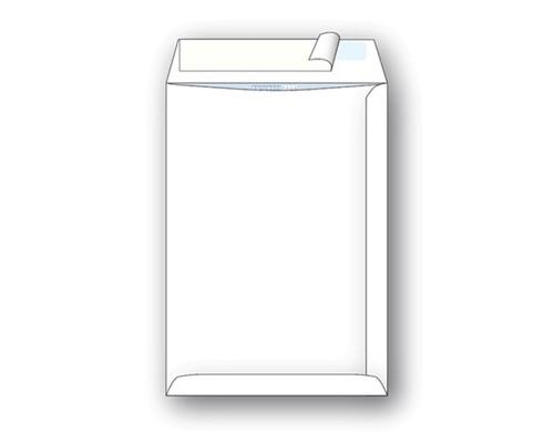 Пакет почтовый Businesspack С4 из офсетной бумаги стрип 229х324 мм 120 г/кв.м 200 штук в упаковке - (128727К)