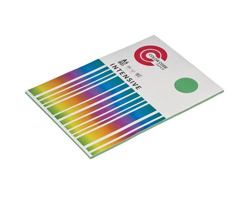 Бумага цветная ColorCode Intensive А4 зеленая 80 г/кв.м 50 листов - (473351К)