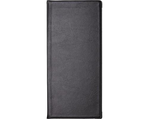Визитница настольная Koh-I-Noor Gama пластиковая на 112 визиток черная с уголками - (2425К)