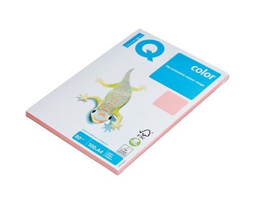 Бумага цветная IQ Color A4 80 г/кв.м PI25-розовый 100 листов - (78413К)