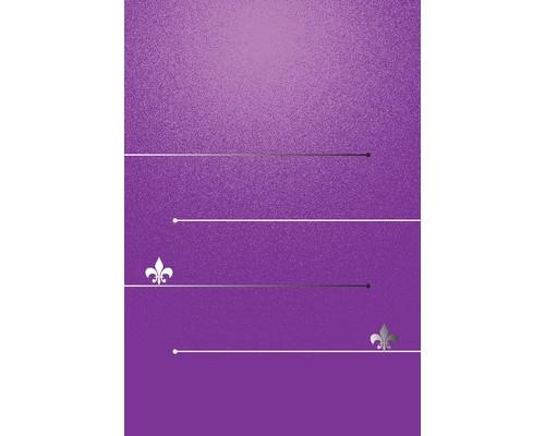 Блокнот А7 в линейку 40 листов в ассортименте на скобе 75х100 мм - (629670К)