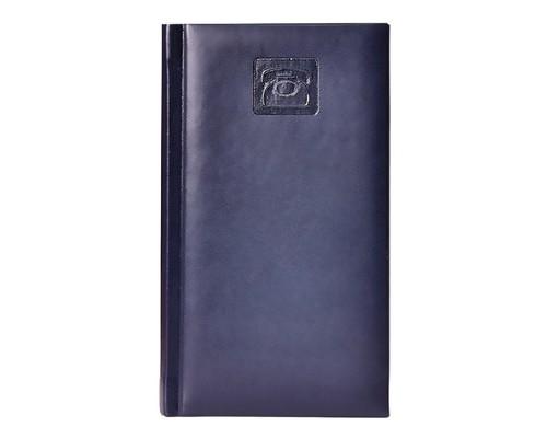 Телефонная книга Attache Каньон искусственная кожа А6 48 листов синяя 92х160 мм - (106462К)