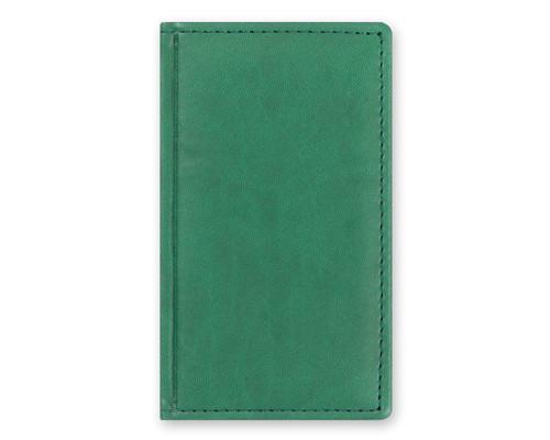 Телефонная книга Attache Вива искусственная кожа А6 96 листов зеленая 85х145 мм - (105984К)