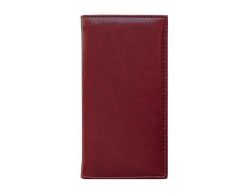 Алфавитная книжка Agenda искусственная кожа А6 56 листов бордовая 85х160 мм - (556043К)