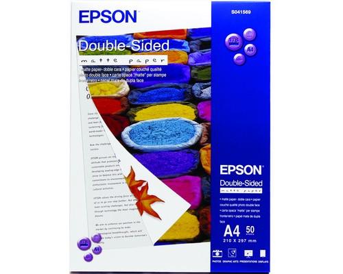 Фотобумага EPSON s041569 матовая А4 178 г/кв.м 50 листов - (98796К)