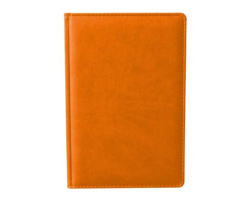 Ежедневник недатированный Attache Сиам А6 176 листов оранжевый 110x155 мм - (209647К)