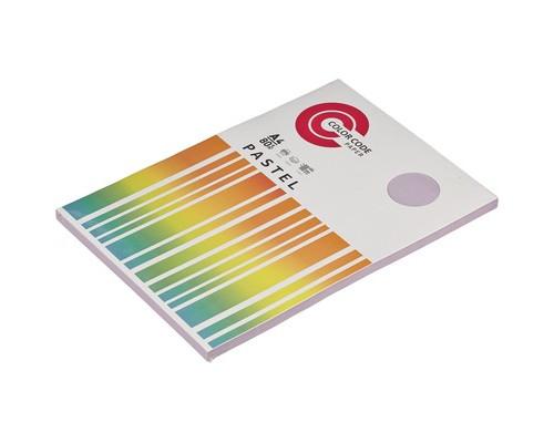 Бумага цветная ColorCode Pastel А4 фиолетовая 80 г/кв.м 100 листов - (473435К)