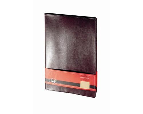 Еженедельник недатированный Bruno Visconti Profi натуральная кожа А4 64 листа коричневый 222x302 мм - (209753К)