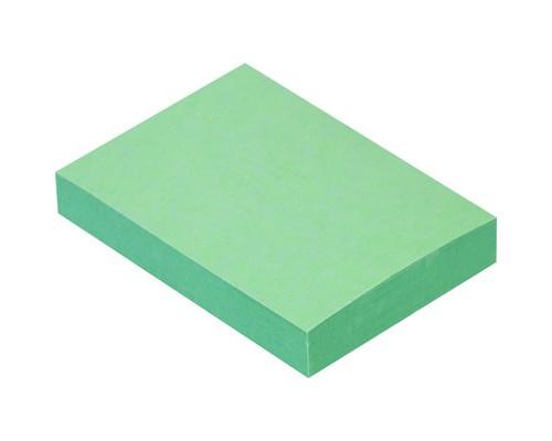 Клейкие листки 38x51 мм зеленые пастельные 100 листов - (359817К)