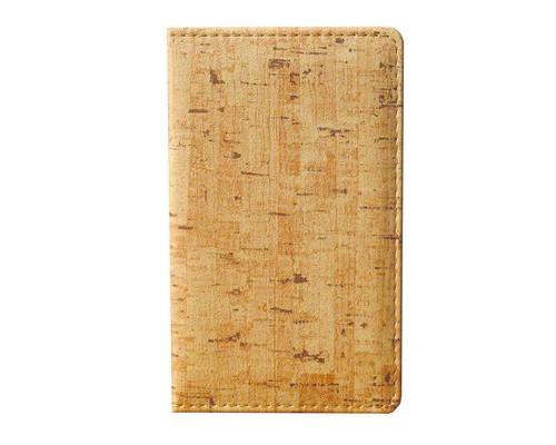 Визитница настольная Attache Корк искусственная кожа на 96 визиток бежевая - (209685К)
