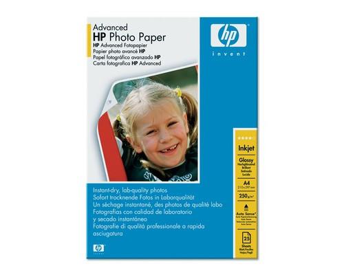 Фотобумага HP q5456A Photo глянцевая А4 250 г/кв.м 25 листов - (82885К)