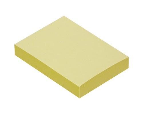 Клейкие листки 38x51 мм желтые пастельные 100 листов - (359819К)