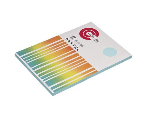 Бумага цветная ColorCode Pastel А4 голубая 80 г/кв.м 100 листов - (473346К)