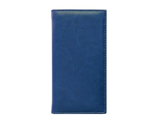 Алфавитная книжка Agenda искусственная кожа А6 56 листов синяя 85х160 мм - (556044К)