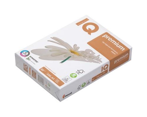 Бумага для принтера IQ Premium А4 80 г/кв.м белизна 169% CIE 500 листов - (51180К)