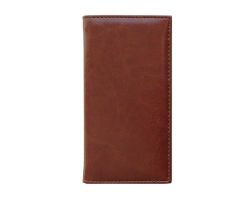 Алфавитная книжка Agenda искусственная кожа А6 56 листов коричневая 85х160 мм - (556042К)