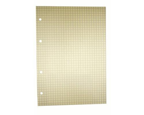 Сменный блок для тетрадей A5 80 листов желтый клетка - (407211К)