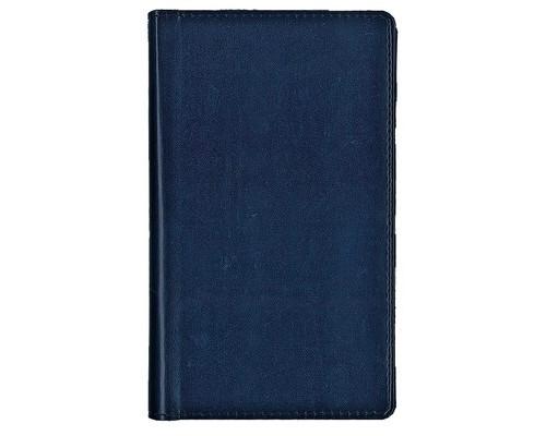 Визитница настольная Attache Каньон искусственная кожа на 96 визиток синяя - (106465К)