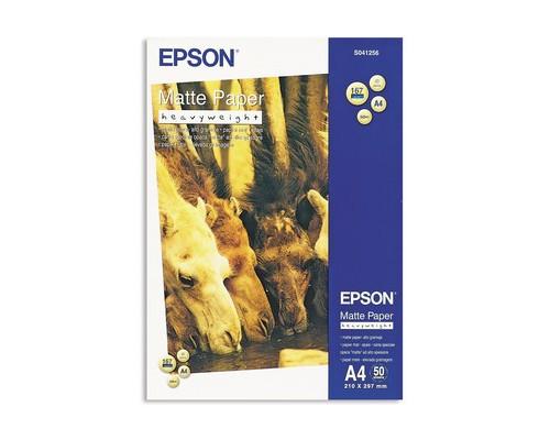 Фотобумага EPSON s041256 матовая А4 167 г/кв.м 50 листов - (74182К)