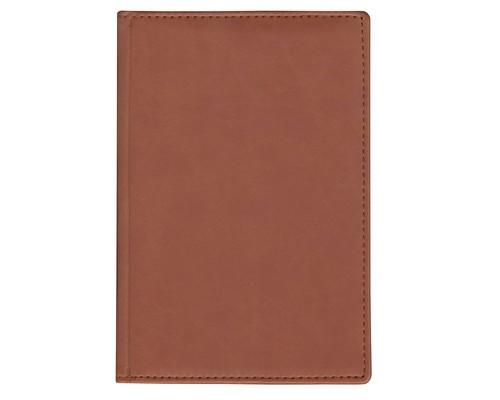 Ежедневник недатированный Attache Вива искусственная кожа А6 160 листов коричневый 100х150 мм - (559186К)