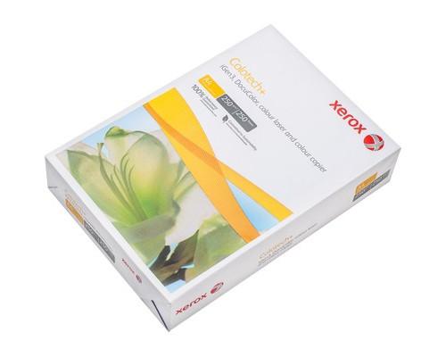 Бумага для цветной лазерной печати Xerox Colotech+ А4 250 г/кв.м 170% CIE пачка 250 листов - (256591К)