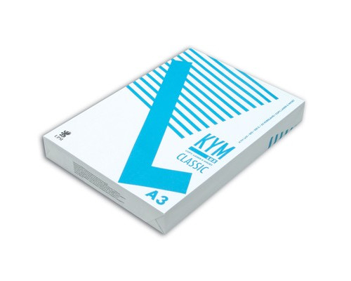 Бумага для принтера KYM Lux Classic А3 80 г/кв.м 150% CIE 500 листов - (202485К)