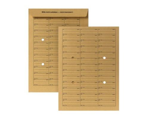 Пакет почтовый Bong C4 из крафт-бумаги 229х324 мм 120 г/кв.м 25 штук в упаковке - (389223К)