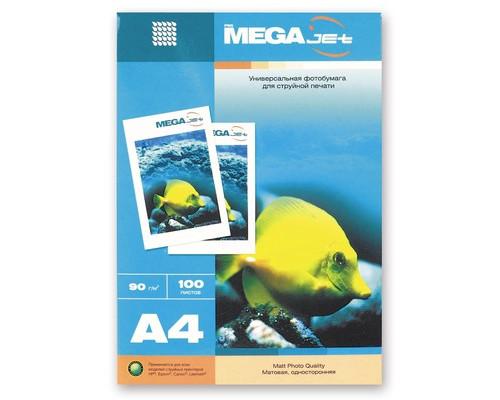 Фотобумага MEGA Jet матовая А4 90 г/кв.м100 листов - (47001К)