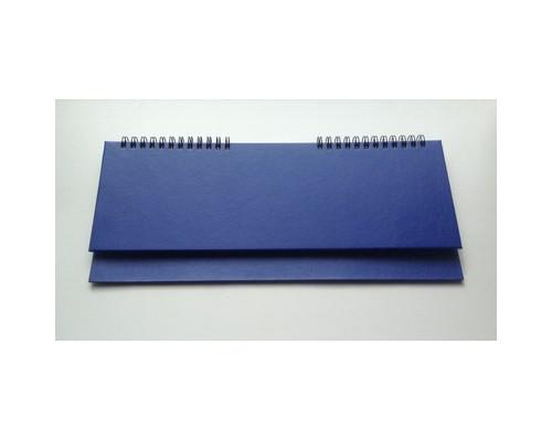 Планинг недатированный Альт бумвинил 64 листа синий 305х130 мм - (47869К)