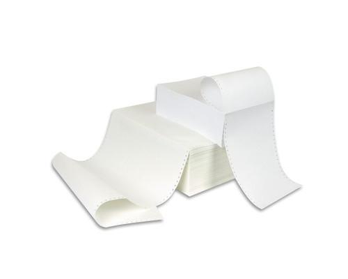 Перфорированная бумага однослойная ProMega 210 мм x 1220 м 60 г/кв.м 4000 листов в упаковке - (8417К)