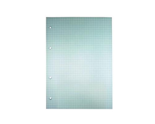 Сменный блок для тетрадей A5 80 листов голубой клетка - (407210К)