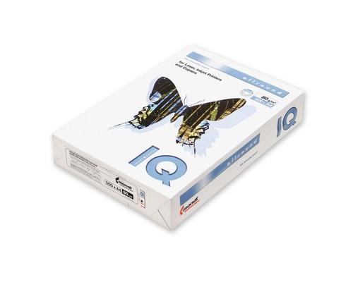 Бумага для принтера IQ Allround А4 80 г/кв.м белизна 162% CIE 500 листов - (117453К)