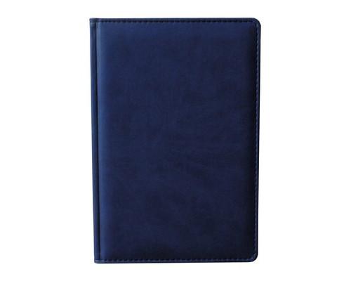 Ежедневник недатированный Attache Сиам А6 176 листов синий 110x155 мм - (209641К)