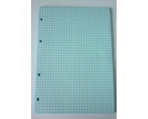 Сменный блок для тетрадей А5 50 листов голубой клетка - (416799К)