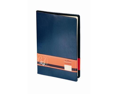 Еженедельник недатированный Bruno Visconti Profi натуральная кожа А4 64 листа синий 222х302 мм - (209752К)