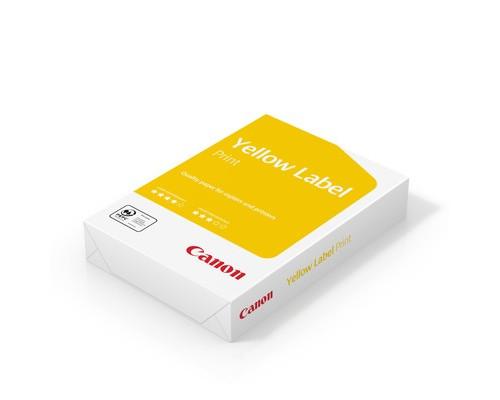 Бумага для принтера Canon Yellow Label Print А4 80 г/кв.м белизна 146% CIE 500 листов - (266312К)