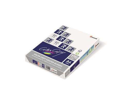 Бумага для цветной лазерной печати Color Copy с покрытием Glossy А4 170 г/кв.м 141% CIE 250 листов - (65192К)