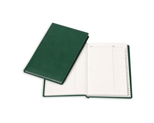 Телефонная книга Attache Вива искусственная кожа А5 96 листов зеленая 133х202 мм - (61170К)