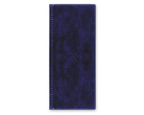 Визитница настольная Attache пластиковая на 96 визиток синяя - (107242К)
