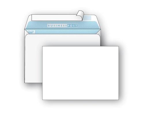 Конверт почтовый BusinessPost C4 229x324 мм белый удаляемая лента 250 штук в упаковке - (76397К)