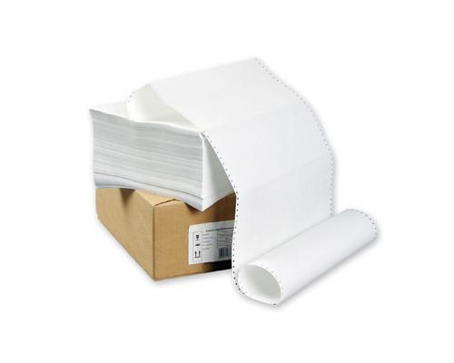 Перфорированная бумага однослойная ProMega 375 мм x 610 м 60 г/кв.м 2000 листов в упаковке - (8419К)