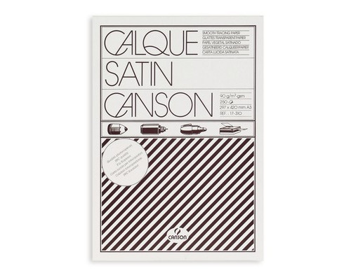 Калька Canson А3 90 г/кв.м 250 листов - (12988К)
