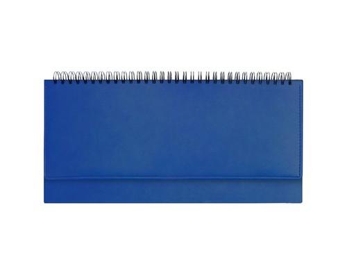 Планинг недатированный Attache Velvet 64 листа синий 290х150 мм - (556036К)