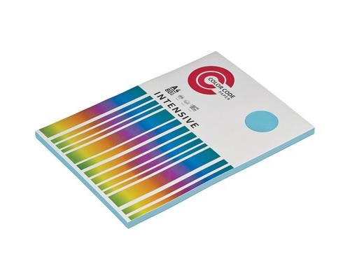 Бумага цветная ColorCode Intensive А4 голубая 80 г/кв.м 100 листов - (473438К)