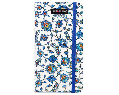Телефонная книга Art-Blanc Maiolica плотный картон А7 96 листов цветная 85х160 мм - (292469К)