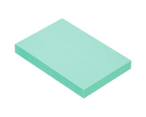 Клейкие листки 51x76 мм зеленые пастельные 100 листов - (359813К)