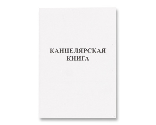 Книга учета бухгалтерская офсет А4 48 листов в линейку на скрепке - (34021К)