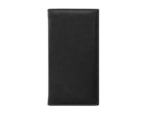 Алфавитная книжка Agenda искусственная кожа А6 56 листов черная 85х160 мм - (556041К)
