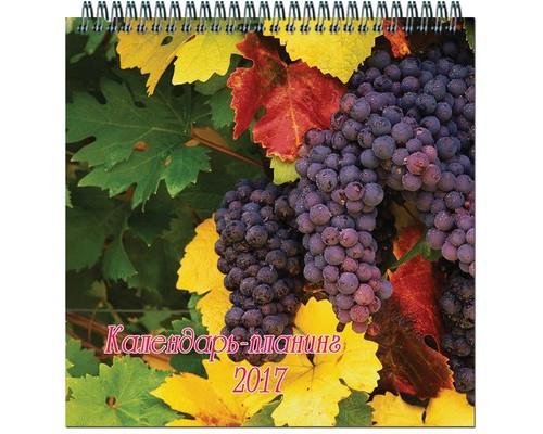 Календарь настенный моноблочный на 2017 год Времена года - (571503К)